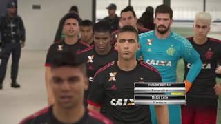 Gabigol volta de lesão, Marquinhos faz lançamento espetacular e Correa da a vitória ao time ! Flamengo Pes 2017 Master Liga...