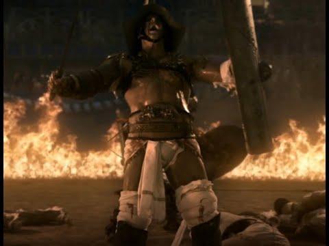 Spartacus:Gods of the arena HD 1080, Caburus vs Crixus and Gannicus! Спартак:Боги арены!