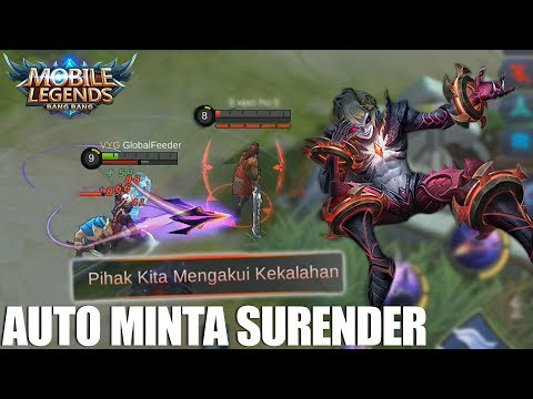 TEST DYRUS RANKED SOLO PUBLIC - TEAM LANGSUNG MINTA NYERAH!!! MOBILE LEGENDS