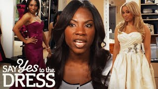 Video Bride Wants Bridesmaids to Go Over Budget! | Say Yes To The Dress Bridesmaids MP3, 3GP, MP4, WEBM, AVI, FLV Juni 2019