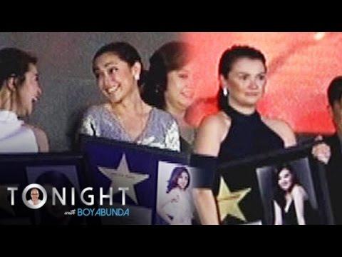 TWBA: Kapamilya stars on Walk of Fame Philippines
