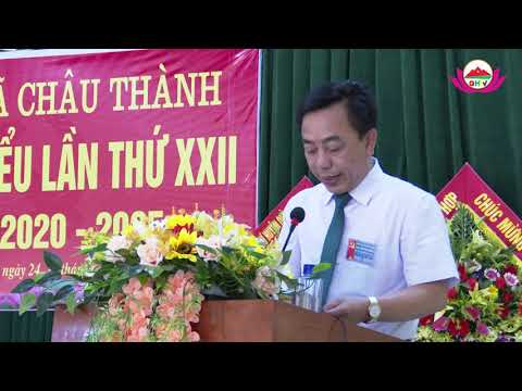 Đại hội Đảng bộ xã Châu Thành, huyện Quỳ Hợp lần thứ XXII, nhiệm kỳ 2020-2025