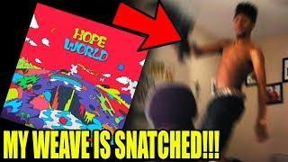J-Hope - Hope World (FULL MIXTAPE) REACTION!!!