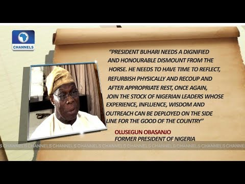 Obasanjo Blasts Buhari, Warns Him Against Seeking Re-election |Network Africa|