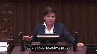 Beata #Szydło twierdzi, że politykom PiS nagrody się należały!