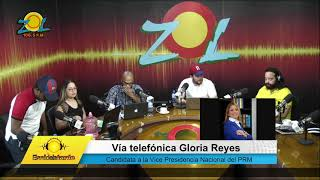 Gloria Reyes candidata a la Vice Presidencia Nacional del PRM comenta sobre su candidatura