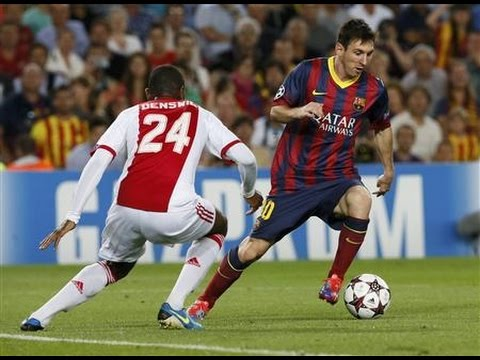 VIDEO: Subtiele panna van Messi bij Klaassen