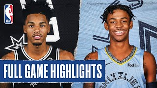 SPURS at GRIZZLIES | FULL GAME HIGHLIGHTS | August 2, 2020 by NBA