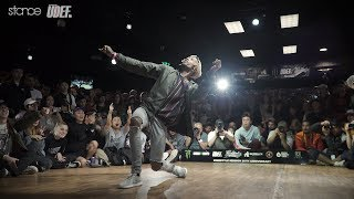 Greenteck vs Slim Boogie – Freestyle Session 2017 Popping Final (Another angle)