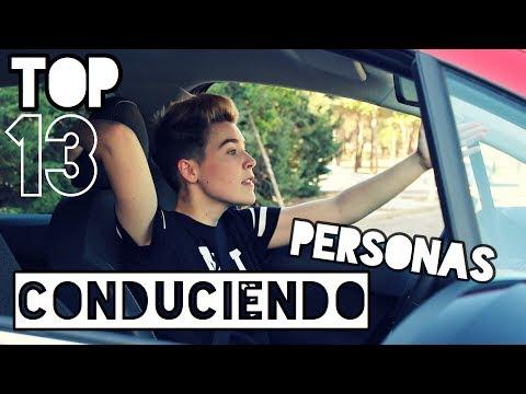 TOP 13 PERSONAS CONDUCIENDO  MoniConDobleii