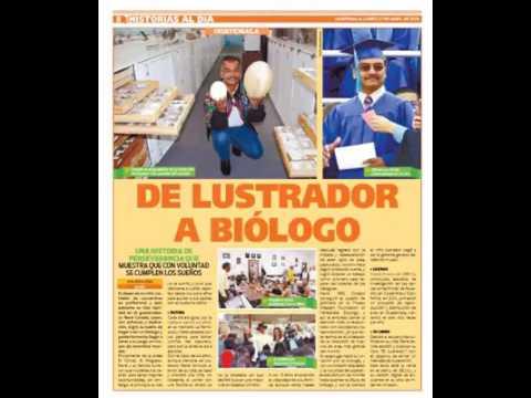 Reportajes de El Lustrador René Corado Newspaper articles of El Lustrador René Corado