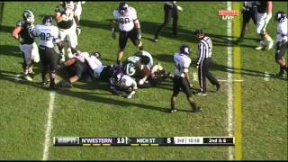Dion Sims vs Northwestern (2012)