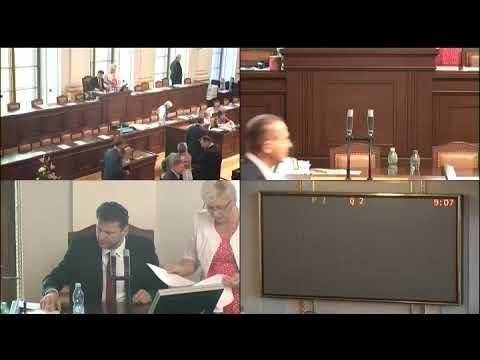 Sněmovna 31.5.2018 - novičok, interpelace