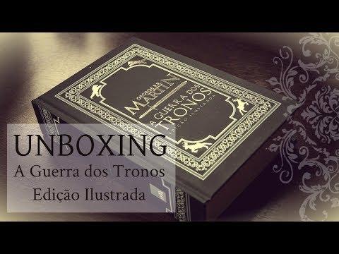 Unboxing de A Guerra dos Tronos: Edição Comemorativa de 20 Anos (Ilustrada)