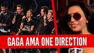 Lady Gaga Defiende a One Direction en los VMAs!