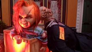 Curse of Chucky : Scare Zone (HD POV) - Halloween Horror Nights 2013 at Universal Studios, CA