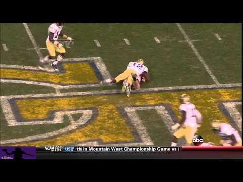 Hutson Mason vs Georgia Tech 2013 video.