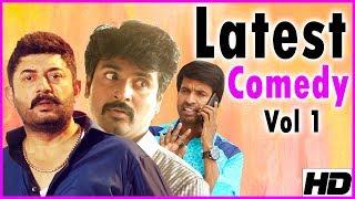 Latest Tamil Comedy   Vol 1   Arvind Swamy   Sivakarthikeyan   Soori   Robo Shankar   Bala Saravanan
