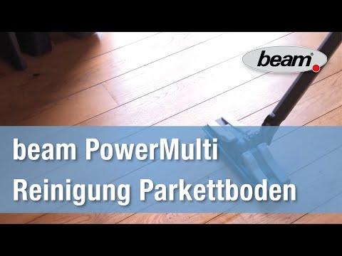 Parkettboden mit dem Dampfsauger beam PowerMulit reinigen
