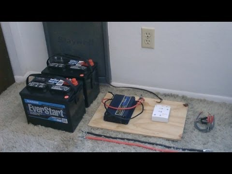 How to hook up Solar Panels (with battery bank) – simple 'detailed' instructions – DIY solar system