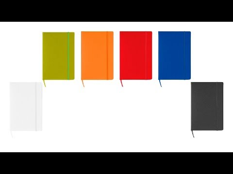 Libreta de notas grande a5 papel cuadriculado squared blanco