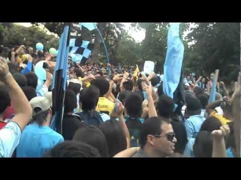 Video - Banderazo Celeste tragedia tome - Trinchera Celeste - O'Higgins - Chile