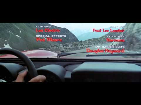 The Italian Job 1969 720p intro