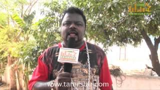 Gokul Nandha Speaks at Muthu Kumar Wanted Movie Shooting Spot