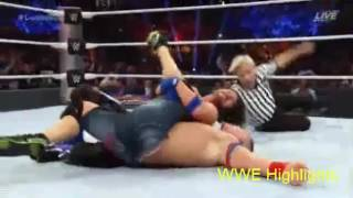 WWE Summerslam 2016 John cena vs Aj styles Highlights HD