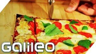 Low Carb Pizza - die neue Lizza | Galileo | ProSieben