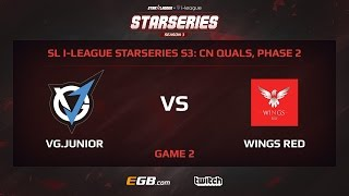 VG.Junior vs Wings.Red, Game 2, SL i-League StarSeries Season 3, China