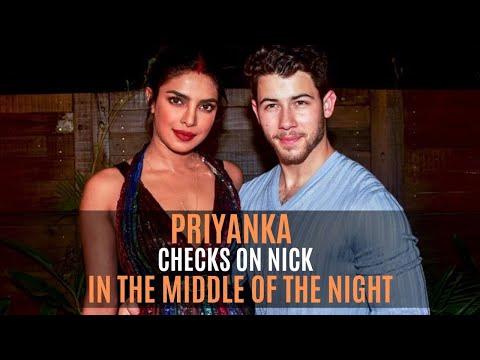 Priyanka Chopra Reveals Waking Up In The Night To Check On Husband Nick Jonas | SpotboyE