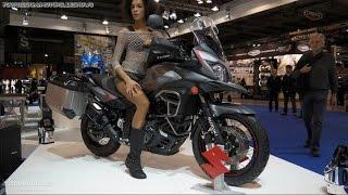 9. 2015 Suzuki V-Strom 650 XT ABS at 2014 EICMA Show