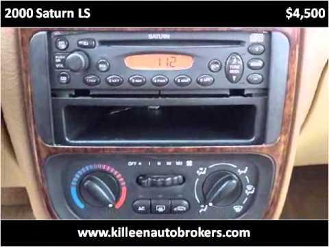 2000 Saturn LS Used Cars Killeen TX