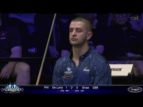Jeffrey DeLuna vs Jayson Shaw | 2020 Diamond Las Vegas Open | Match #9