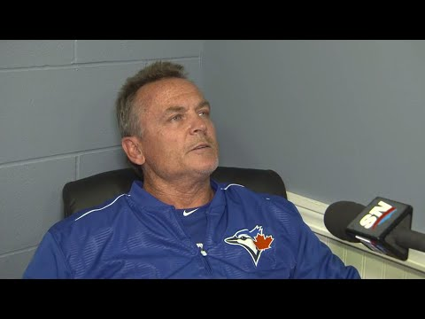 Video: Gibbons: Sanchez developed a little blister...hopefully we got it in time