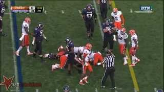 Brandon Vitabile vs Syracuse (2013)