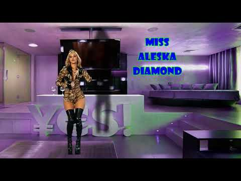 Miss Aleska Diamond  стриптиз, striptease, (видео)