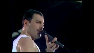 Video Queen - Who wants to live forever & I want to break free (Live at Wembley) MP3, 3GP, MP4, WEBM, AVI, FLV Mei 2018