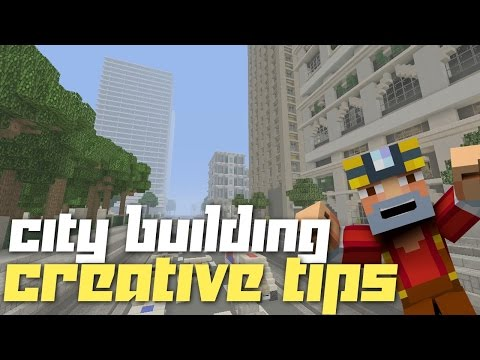 Minecraft Xbox 360/One: Basic City Building Tips!