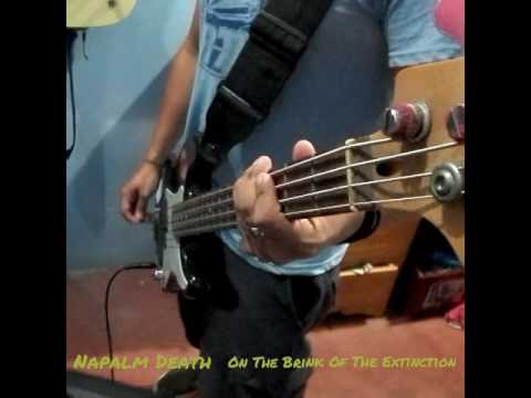 Video Napalm Death - On the Brink of Extinction(Bass Cover) download in MP3, 3GP, MP4, WEBM, AVI, FLV January 2017