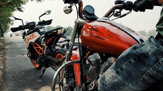 9. RIDING HARLEY DAVIDSON SUPERLOW 883 | First time experience | Road Trip