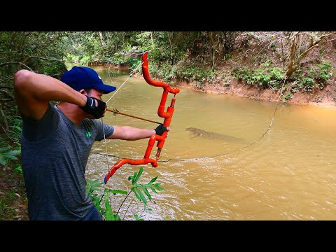 Building Amazing PVC New Style Compound Bowfishing For Shooting Huge Fish-  Make n Use - Thời lượng: 10:07.