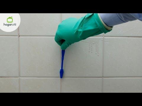 Limpiar azulejos con vinagre videos videos - Como blanquear las juntas de los azulejos ...