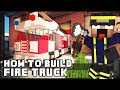 Minecraft Vehicle Tutorial - Fire Truck
