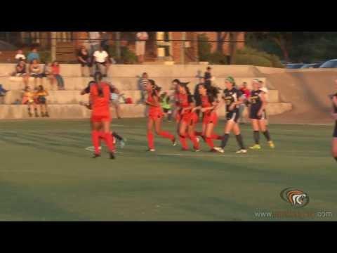 Freshman Lily Higashino's goal - Pacific Women's Soccer vs. Canisuis - 9/5/14