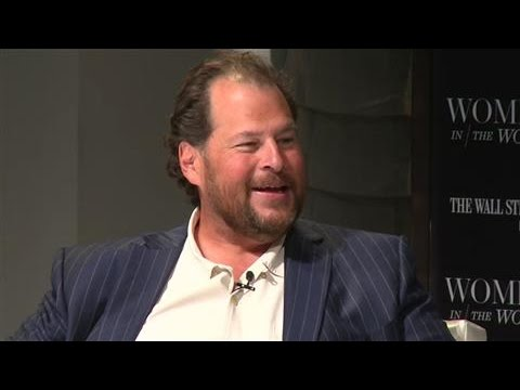 Benioff: Equal Pay for Men and Women Is Critical