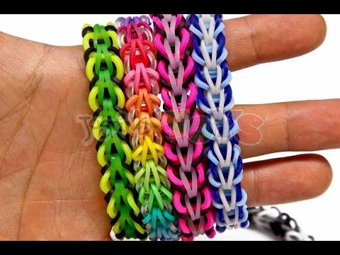 How to Make a Rainbow Loom Tribal Fishtail Bracelet – EASY