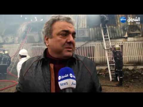 Un gigantesque incendie ravage le dépôt de Panasonic au palais des expositions