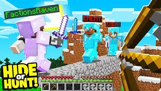 They want to find our SECRET Minecraft base.. - Hide Or Hunt #4
